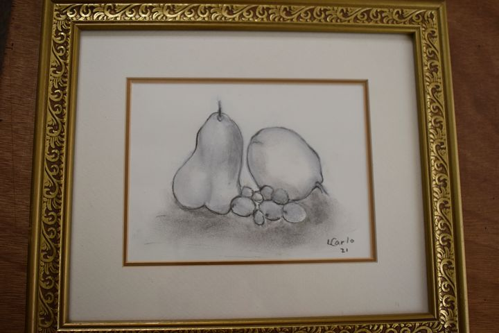 Pears lemon grapes - Maple street arts