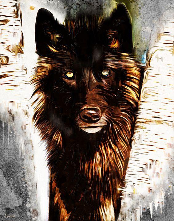 Lone Wolf - Phoenix Art Works