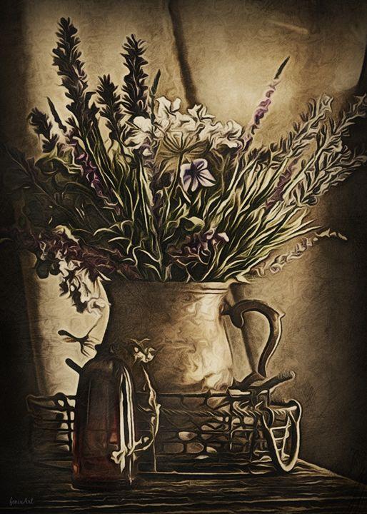 Vase and Bottle - Phoenix Art Works
