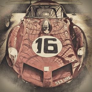 Ferrari 250 GT Breadvan - Phoenix Art Works