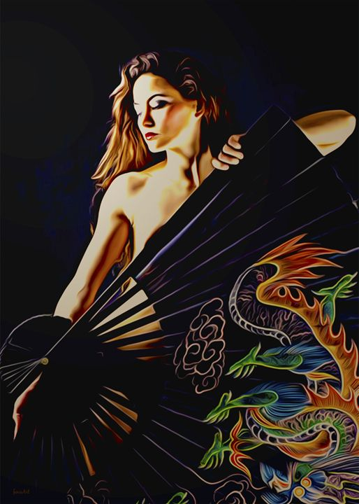 Fan Dancer - Phoenix Art Works