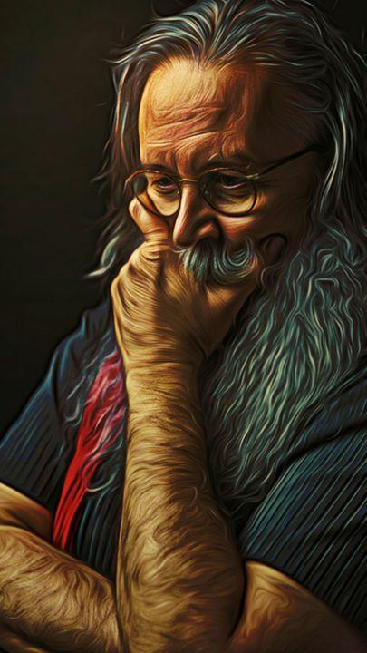 Santa's Contemplation - Phoenix Art Works