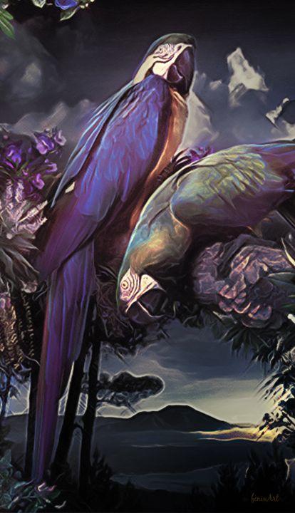 Polly wants a.... - Phoenix Art Works