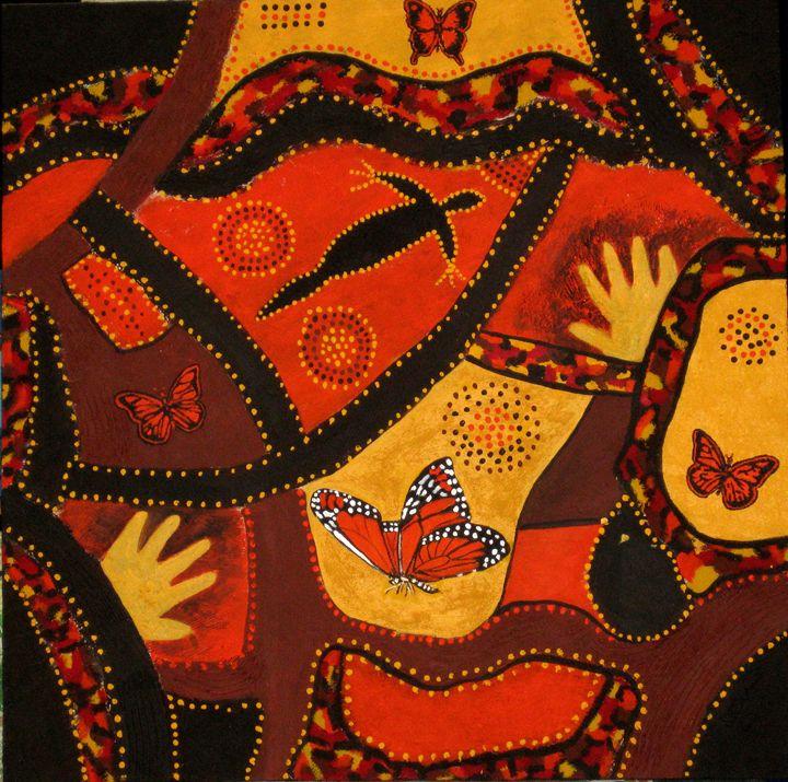 Coat of Many Colours - Susie Mac Art