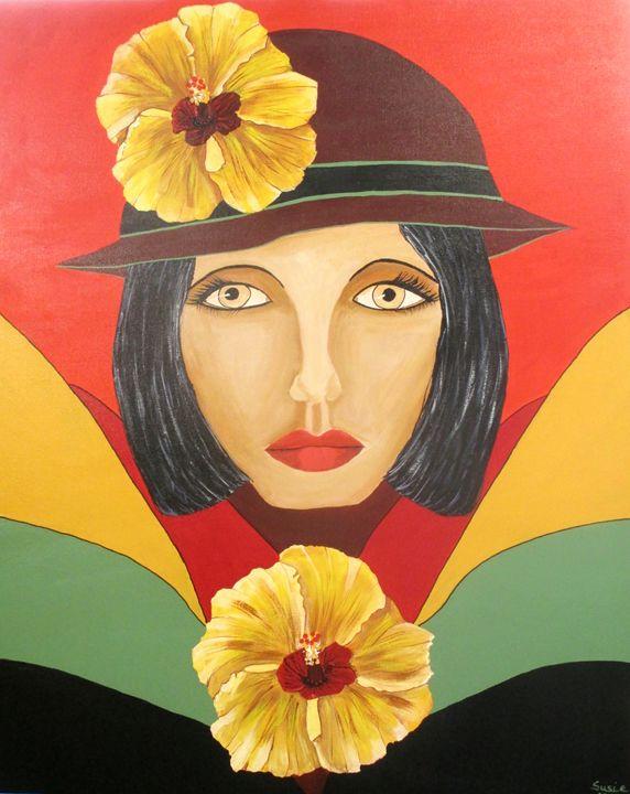 Mesmer-Eyes - Susie Mac Art