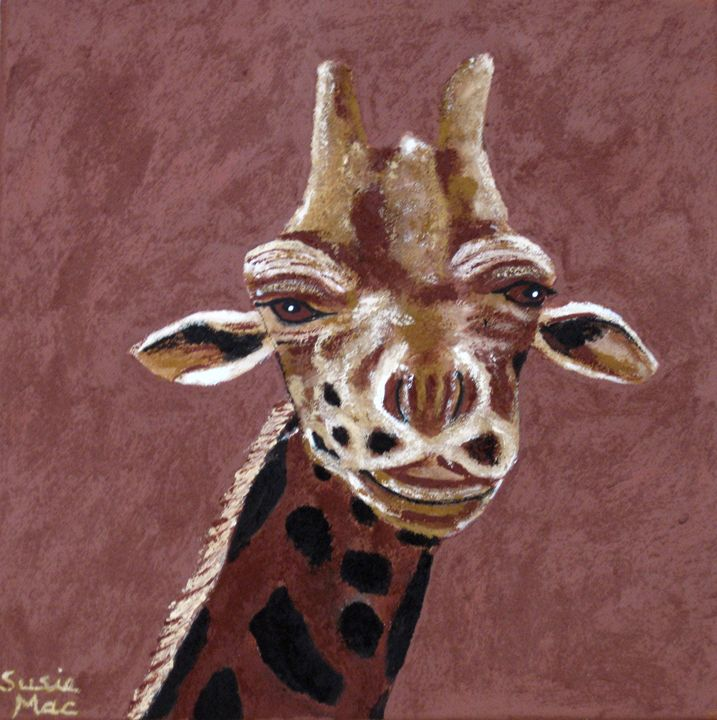 """""""I am looking at you"""" - Susie Mac Art"""