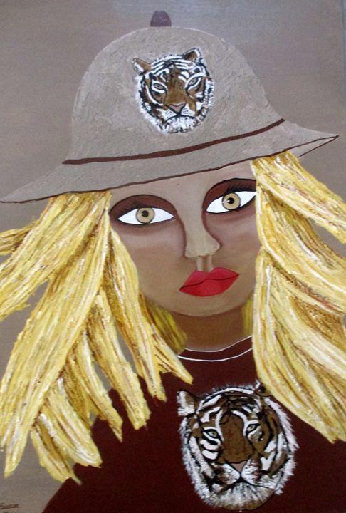 Tiger Lady - Susie Mac Art