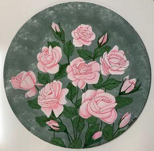 CIRCLE OF ROSES.
