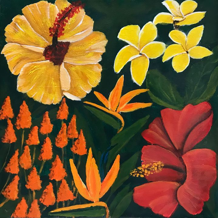 Colours of the Tropics - Susie Mac Art