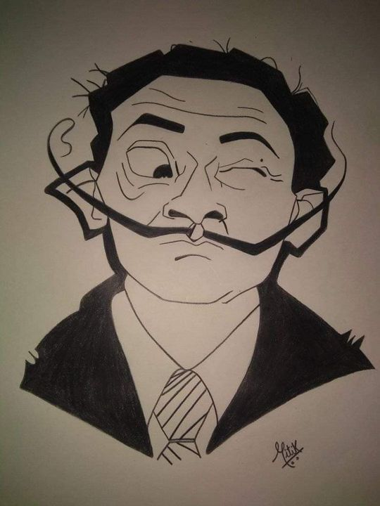 Confused man blinking - Mr Mohit Painter- creativity takes courage