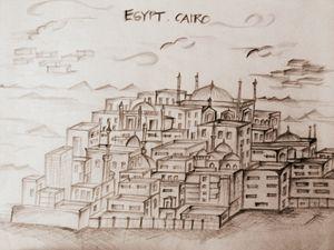 Sandy Egypt by JumanaSanofar
