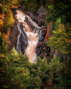 Big Manitou Falls by Tomas Alvarez
