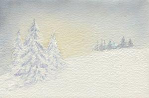 Winter Wonderland Dawn