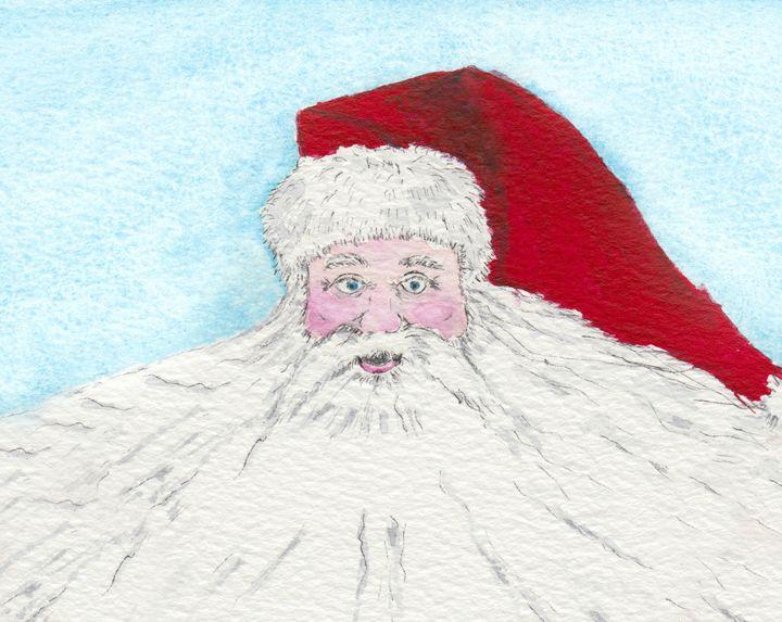 Santa's Beard - EwaPix Paintings