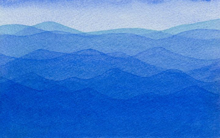 Blue Ocean - EwaPix Paintings