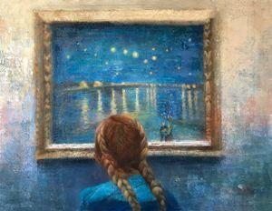 Looking at van Gogh......... NY Met
