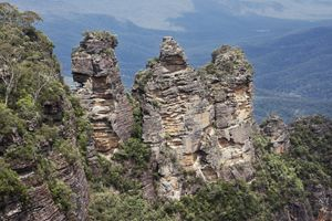 Close up from the three sisters - BRISTE