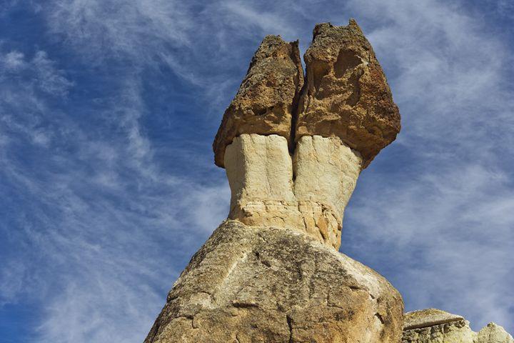Mushroom shaped rocks in Pasabag - BRISTE