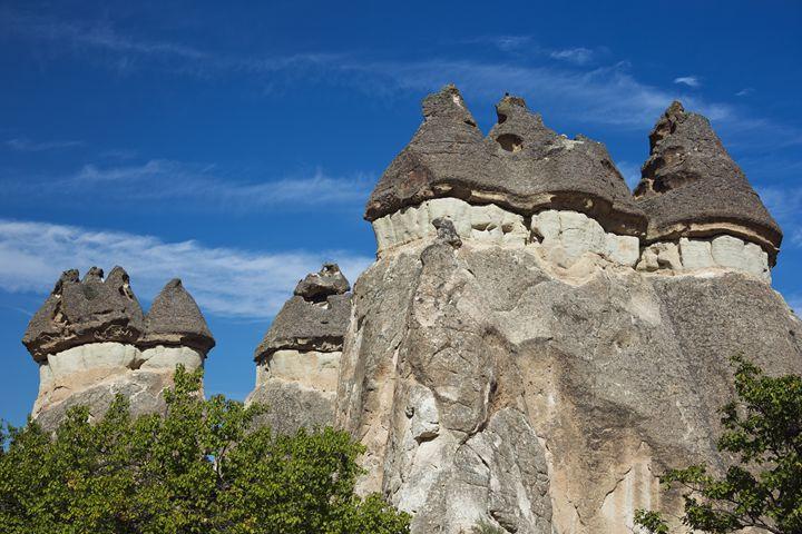 Series of fairy chimneys in Pasabag - BRISTE