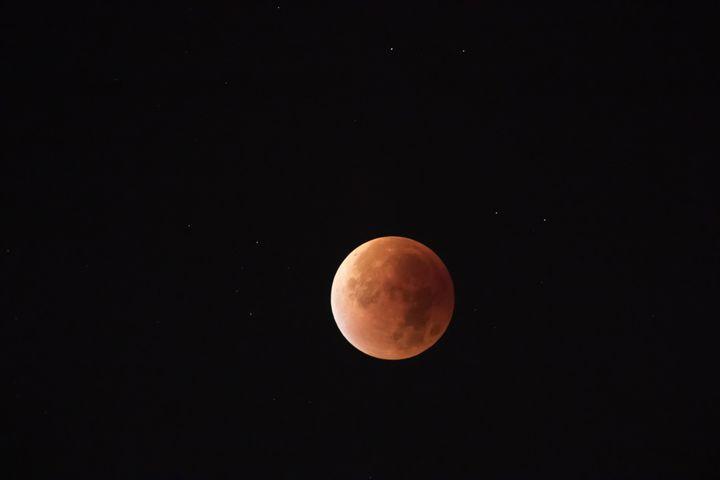Total lunar eclipse of Septemer 2015 - BRISTE