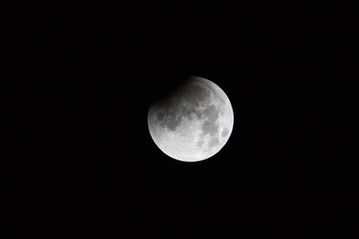Start of the total lunar eclipse of - BRISTE