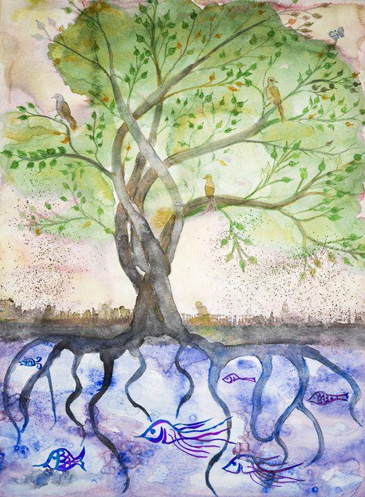 Green tree of life. - BRISTE