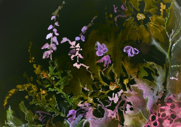 Impression of a mix of wild flowers - BRISTE