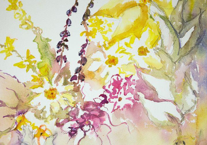 Impression of wild flowers - BRISTE