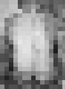 Black and white sitting torso - BRISTE