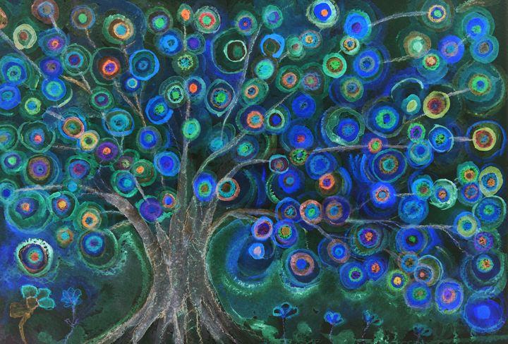 Imagine lollipops growing on a tree - BRISTE