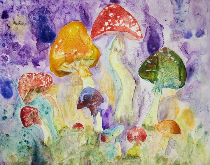 Psychedelic mushrooms - BRISTE