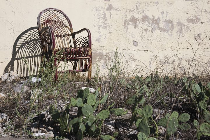 A deserted Turkish garden - BRISTE