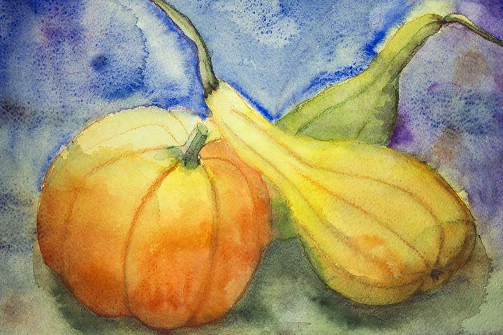 Pumpkin and squash. The dabbing tech - BRISTE