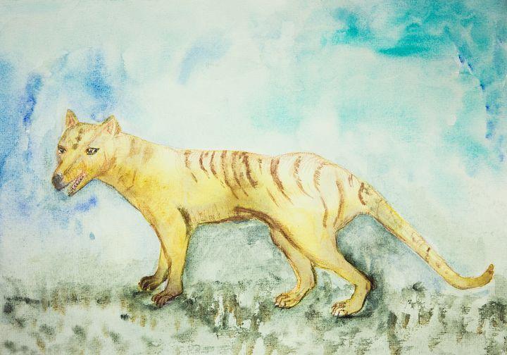 Tasmanian tiger. - BRISTE