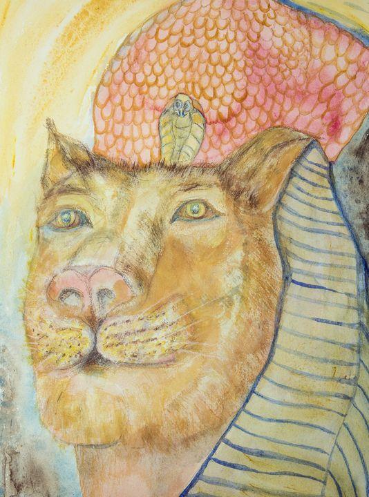 Sekhmet the lioness. - BRISTE