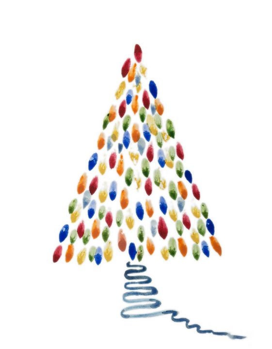 Whimsical Christmas tree. - BRISTE