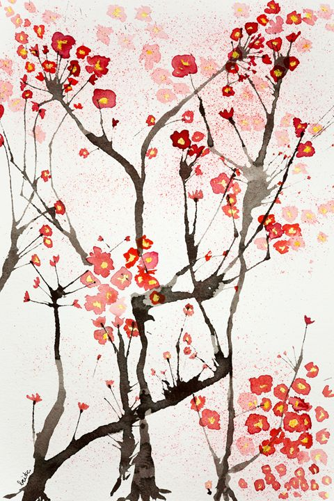 Impression of cherry blossoms - BRISTE