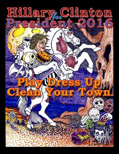 Hillary President 2016 Halloween