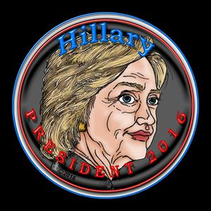 Hillary President 2016 Self-portrait