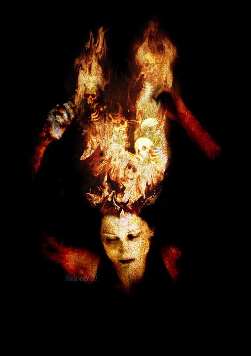 The Burning Darkness - Shasta Seagle