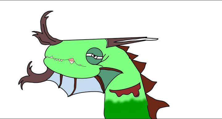 Chameleon Drag - My art