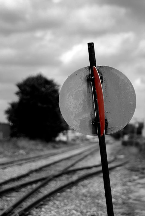 Railroad Switch - Tony L Moore Photography