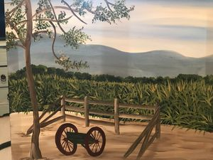 Mountain View in August - Holly's Art