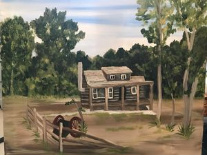 Summer At The Cabin - Holly's Art