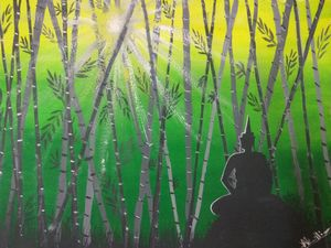 Budha in meditation