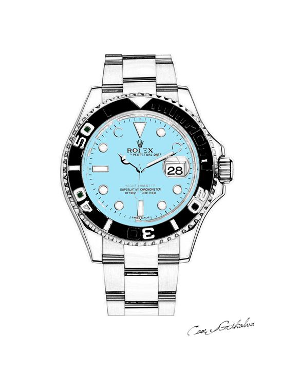 LIMITED Rolex Pastel Canvas - Blue - The Graves Collective