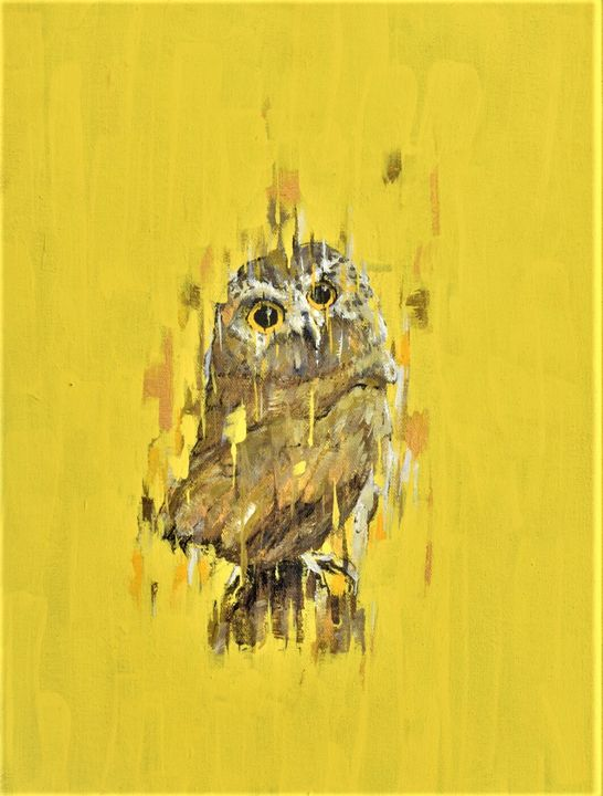 Mom's Owl - Pecontart