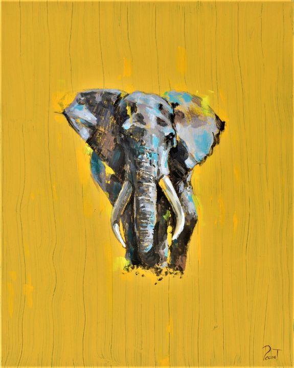 Fearless Elephant - Pecontart
