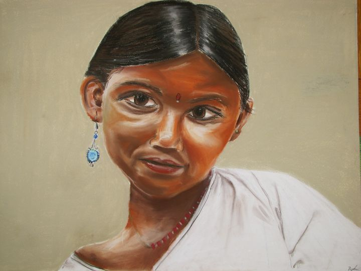 Indian Woman - Daphna's Gallery