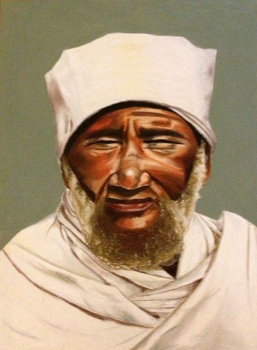 Ethiopian Man - Daphna's Gallery